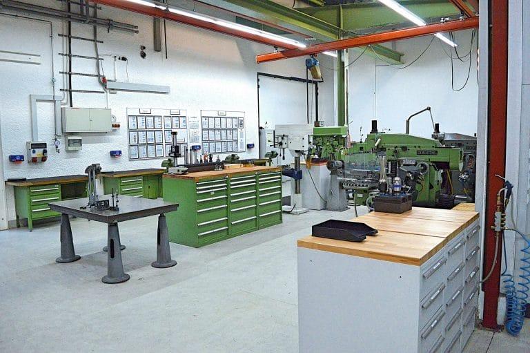 Lehrwerkstatt der Proton GmbH