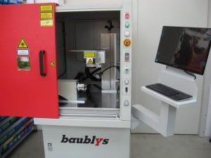 Laserbeschriftung - Baublys